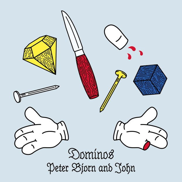 """Peter Bjorn and John share new single """"Dominos"""". The song is off their forthcoming 'Breakin' Point,'"""