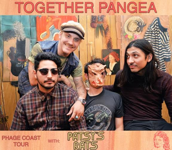 together PANGEA tour behind new EP 'The Phage.' Out via Burger Records.