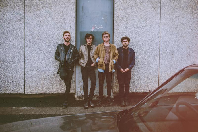 "Ought debut video for ""Beautiful Blue Sky"""