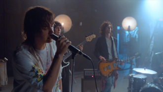 "The Strokes Debut new video for ""Threat of Joy."""