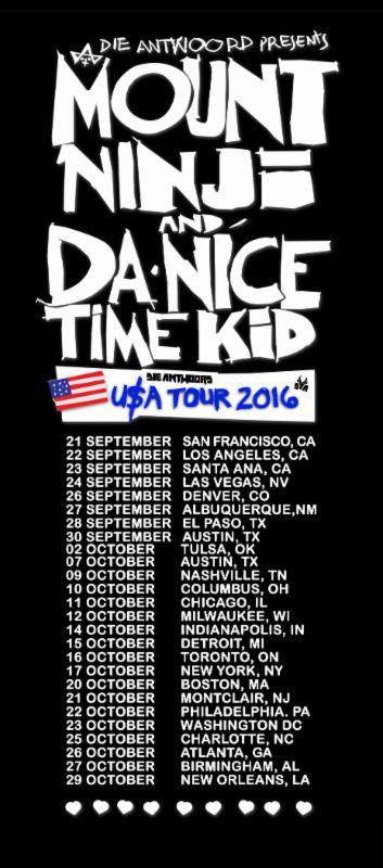 Die Antwoord announces fall tour