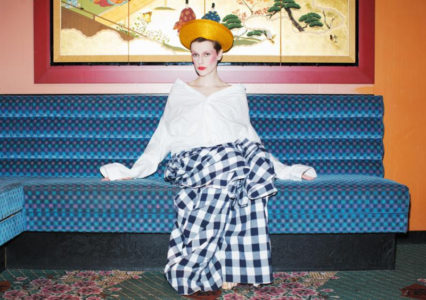 "Watch a new video from El Perro Del Mar for the single ""BREADANDBUTTER."""