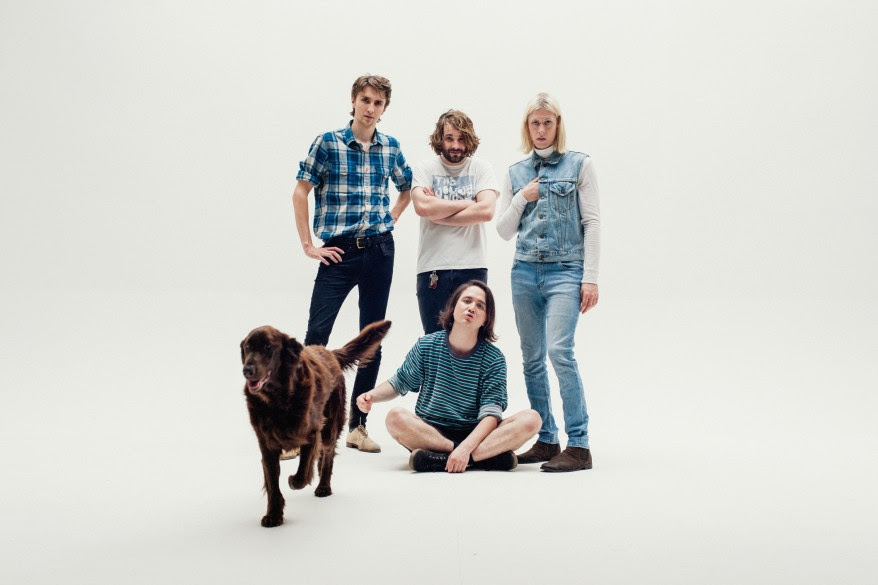 Dutch garage rock band Mozes and the Firstborn announce new album 'Great Pile of Nothing',