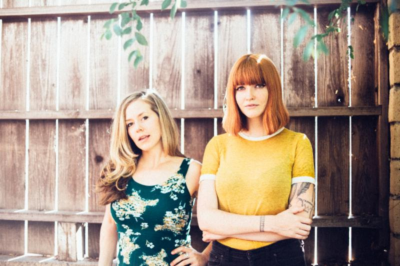 "Katy Goodman + Greta Morgan Announce Covers Record ""Take It, It's Yours,"""