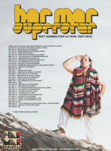 Har Mar Superstar announces 'Best Summer Ever US Tour: Part Deux'