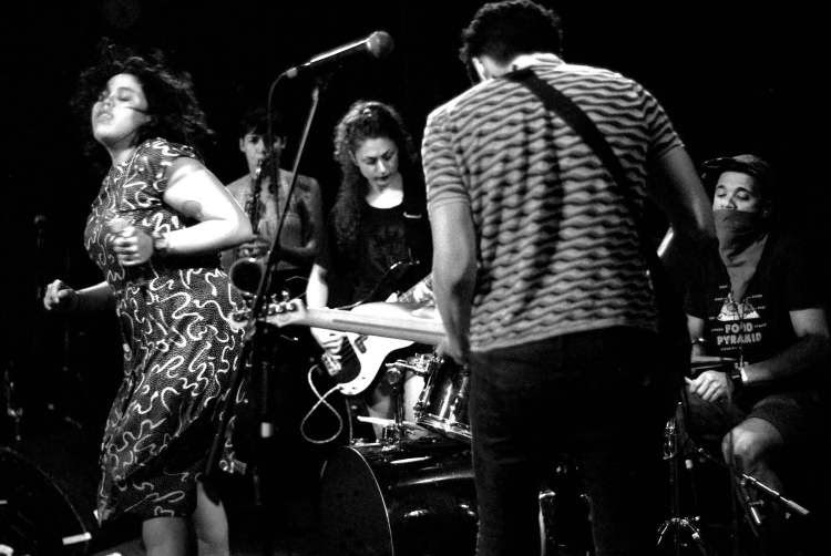 """Listen to Downtown Boys' """"Wave of History"""" Live at DBA"""