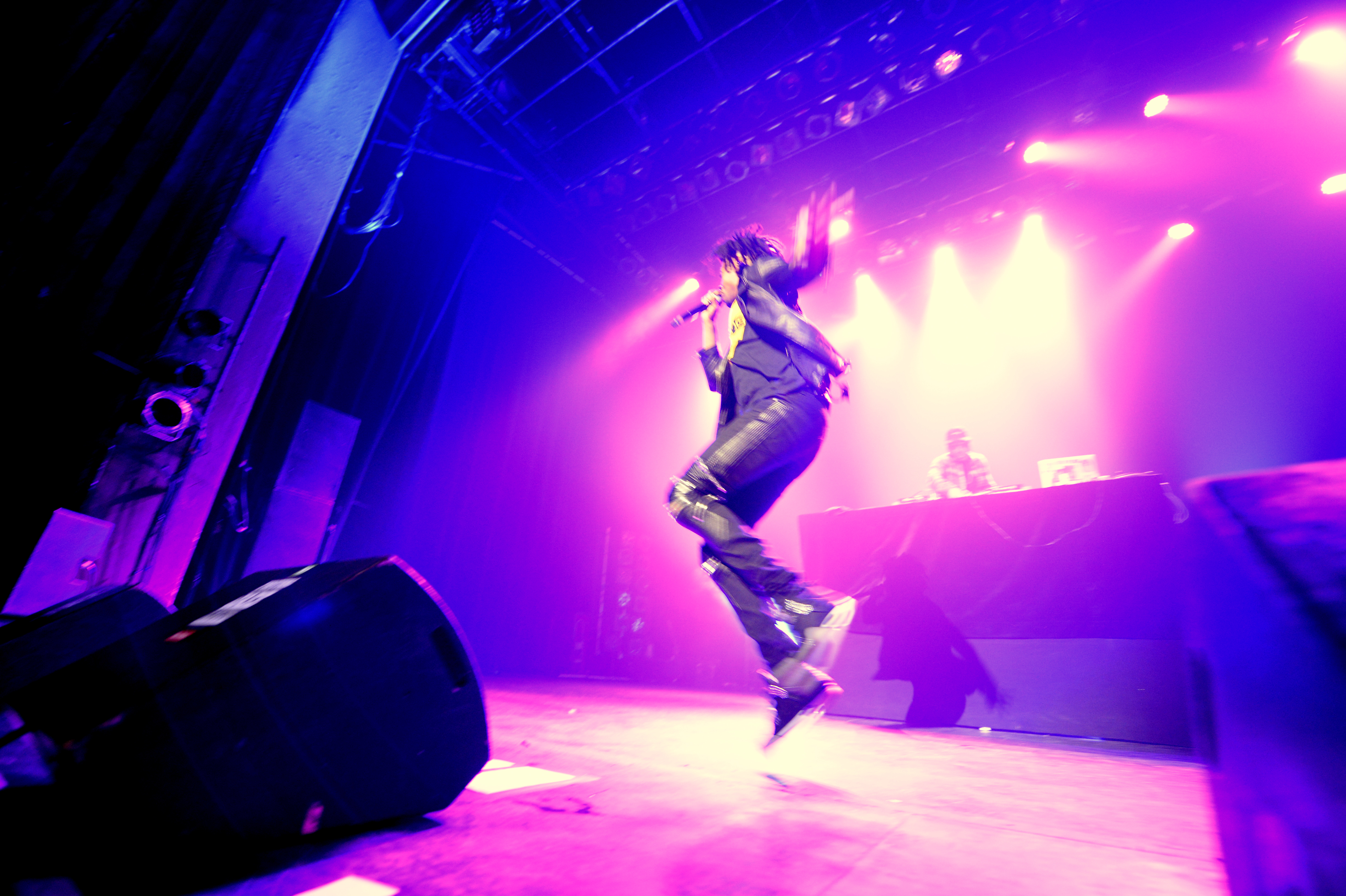 Review of Danny Brown live at The at the Metropolis Theatre, as part of The Montreal international Jazz Festival