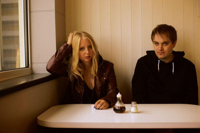 Our interview with onDeadWaves members Polly Scattergood and James Chapman