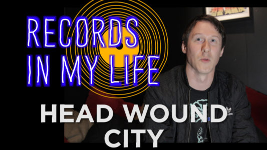 Head Wound City frontman Jordan Blilie guests on 'Records In my Life',