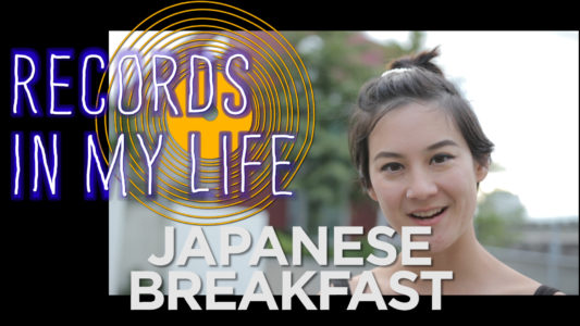 Japanese Breakfast on 'Records In my Life'