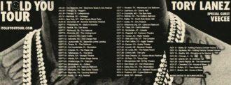 Tory Lanez announces debut album 'I Told You,' massive North American tour
