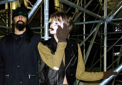 """Crystal Castles unveil video for new track """"Concrete""""."""