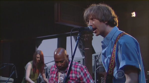 """Watch Parquet Courts perform on """"Captive Of The Sun Colbert"""