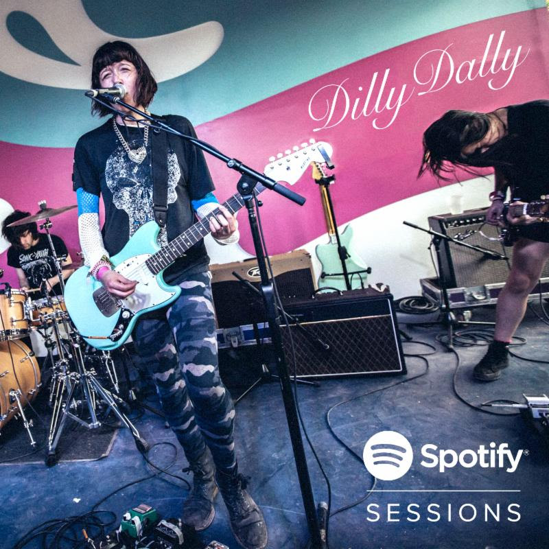 Dilly Dally announce fall tour with Grouplove and share their Spotify Live at SXSW 2016 session