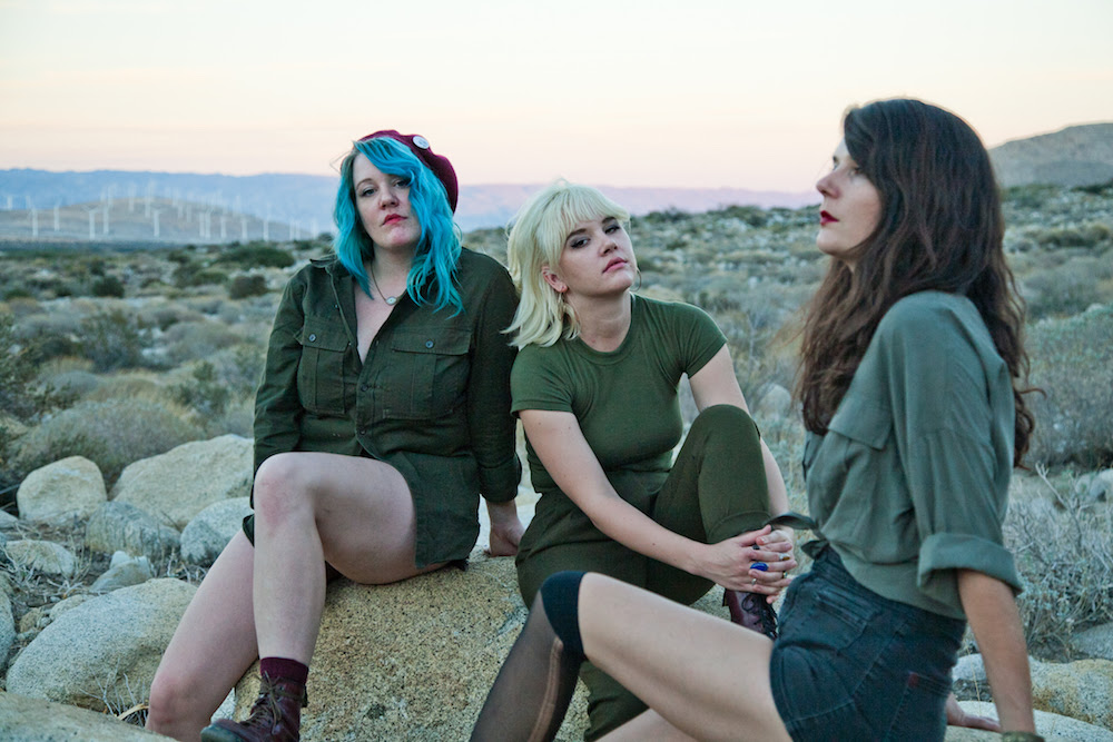 """Bleached announce co-headline """"Bleached Slang"""" fall tour with Beach Slang"""