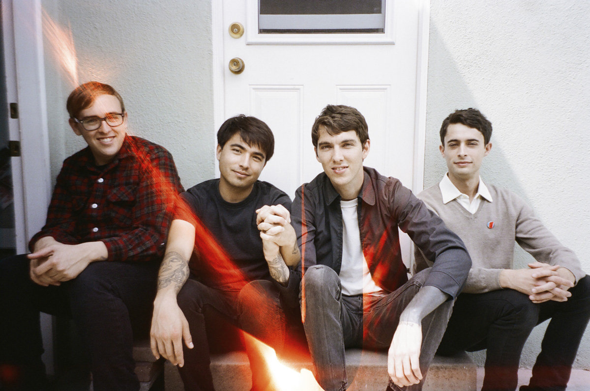 """Joyce Manor release video for """"Fake ID"""", the track comes off their forthcoming release 'Coady"""