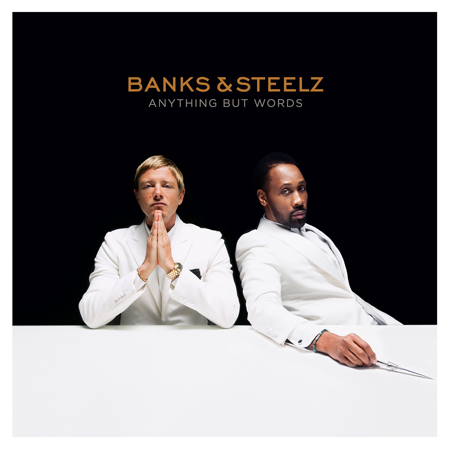 'Anything But Words' by Banks & Steelz, album review