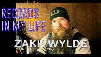 Zakk Wylde guests on 'Records In My Life'.