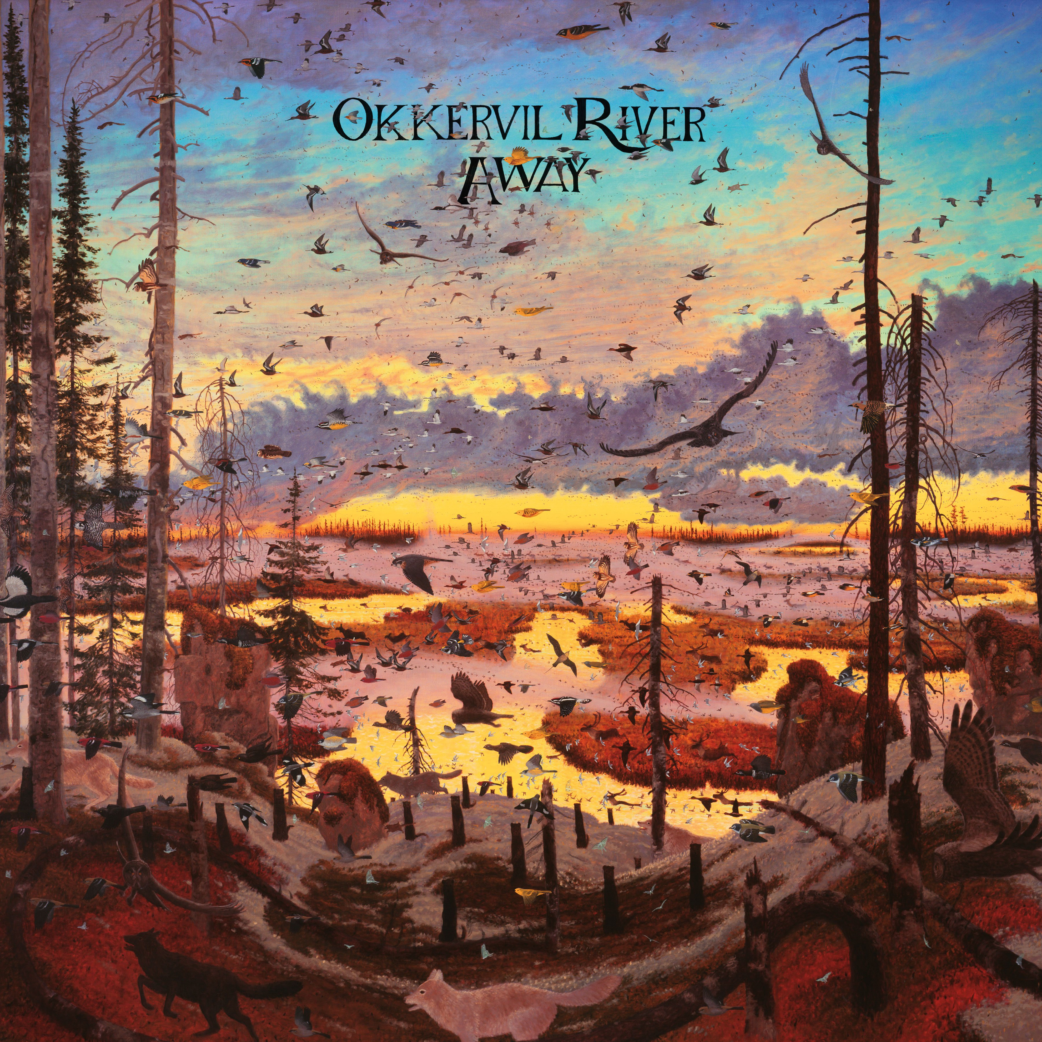 "Elijah Teed reviews ""Away,"" the upcoming eighth album by Okkervil River, out September 9 on ATO Records"