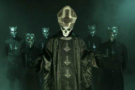 Ghost announce new EP 'Popestar', now available via Spinefarm/Loma Vista Recordings.