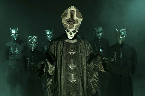 Ghost announce new EP 'Popestar', now available via Spinefarm/Loma Vista Recordings.