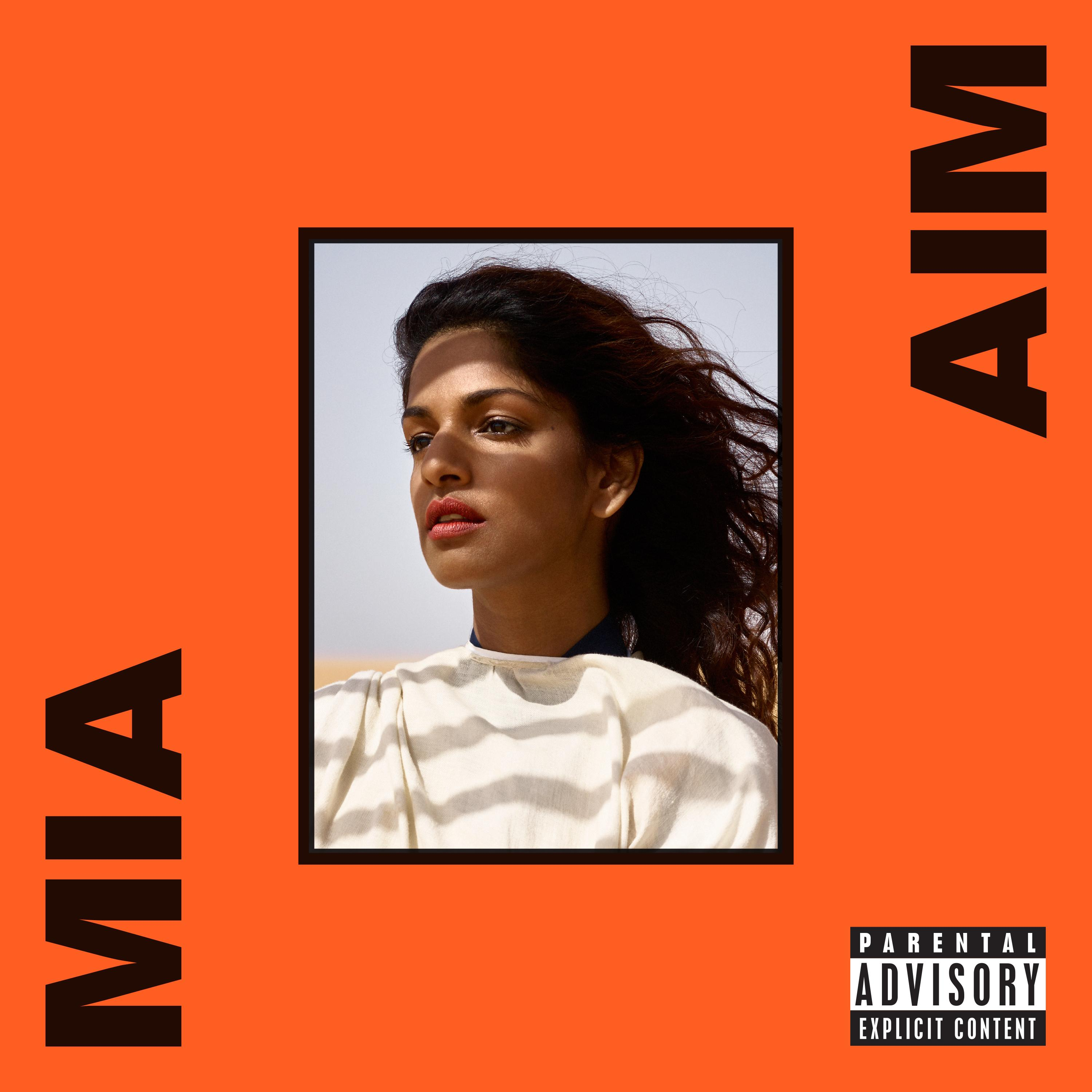'AIM' by M.I.A. album review by Daniel Geddes. The full-length is now out via Interscope records.
