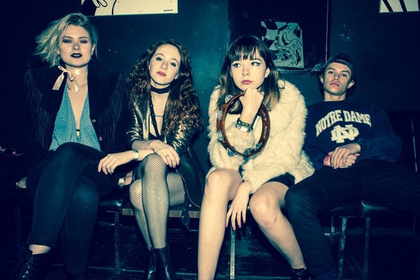 """The Regrettes debut new single """"Hot,"""" fall tour dates alongside Sleigh Bells"""