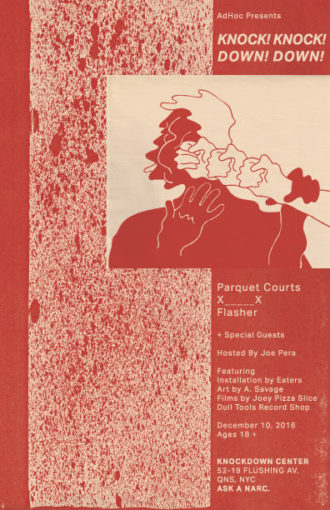Parquet Courts announce New York show at Knockdown Center on December 10