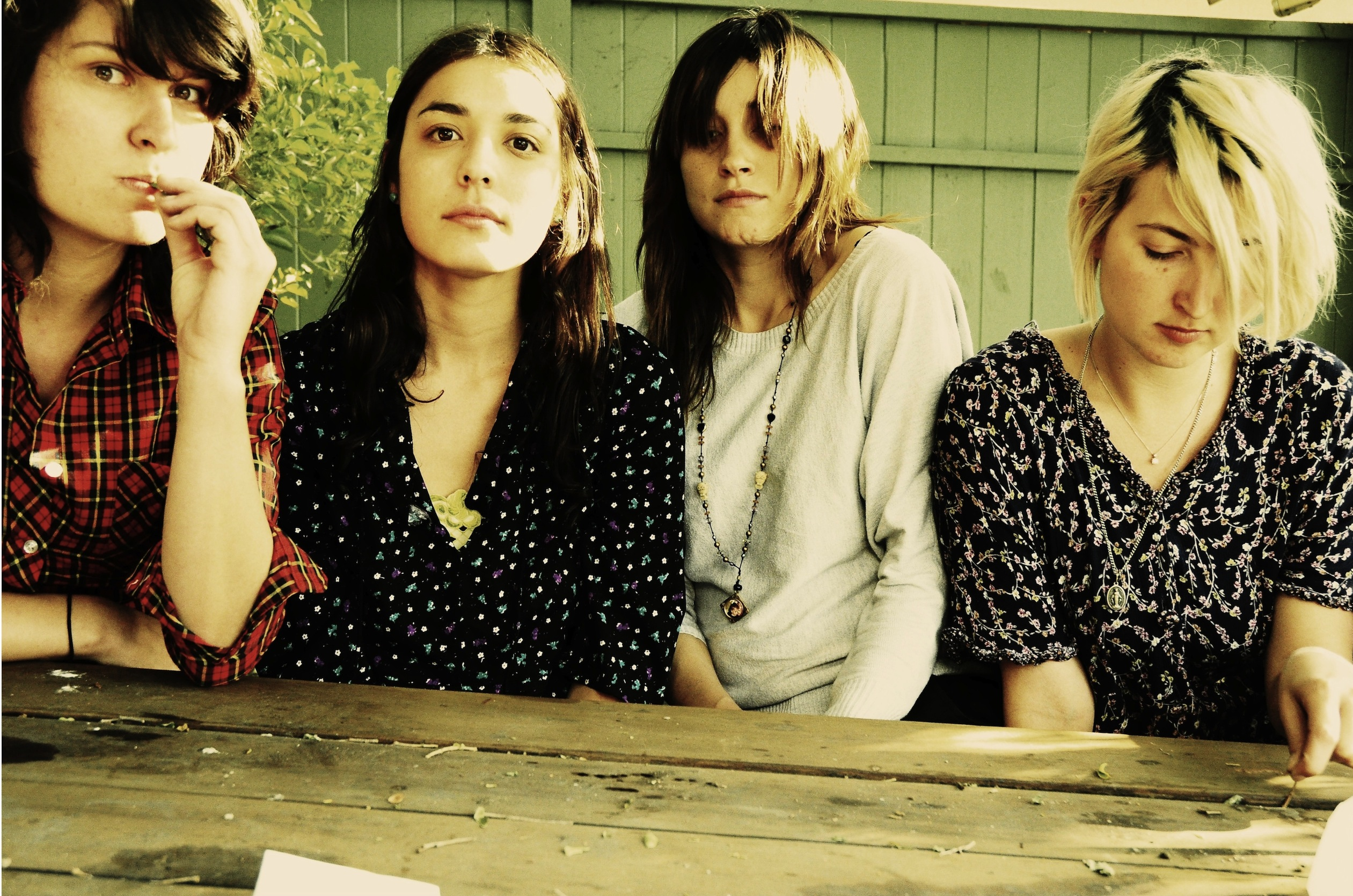 """Warpaint releases new video for """"Whiteout"""". The track comes off their forthcoming release 'Heads Up'"""