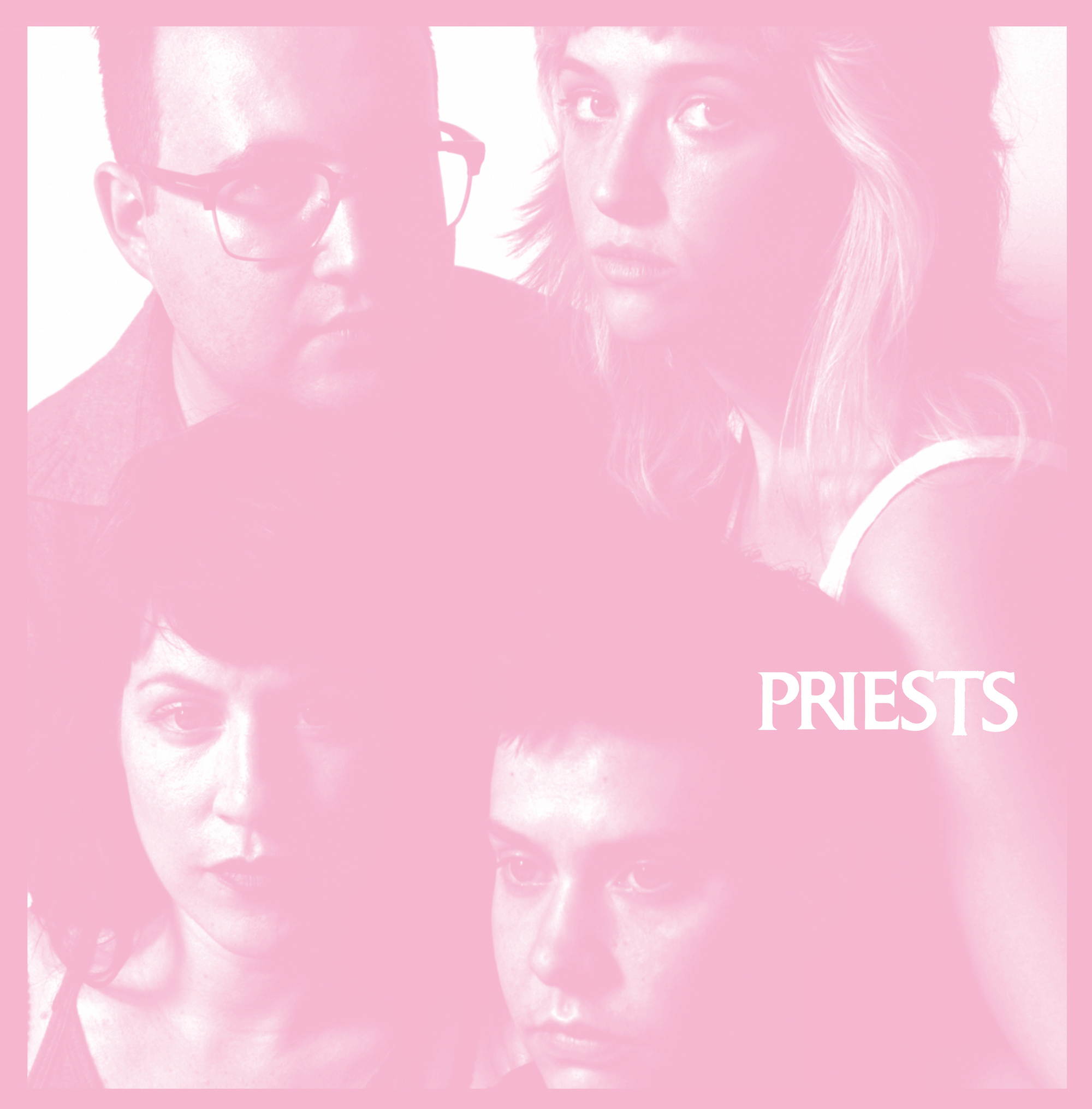 """DC band Priests announce debut album 'Nothing Feels Natural', share lead-track """"JJ""""."""