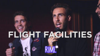 Flight Facilities guest on 'Records In My Life', the duo talked about albums by Daft Punk, Tame Impala, and more. Flight Facilities, play laneways Fest 2016