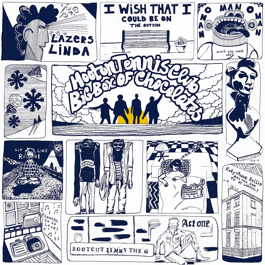 'Big Box Of Chocolates' by Hooton Tennis Club, album review by Jake Fox