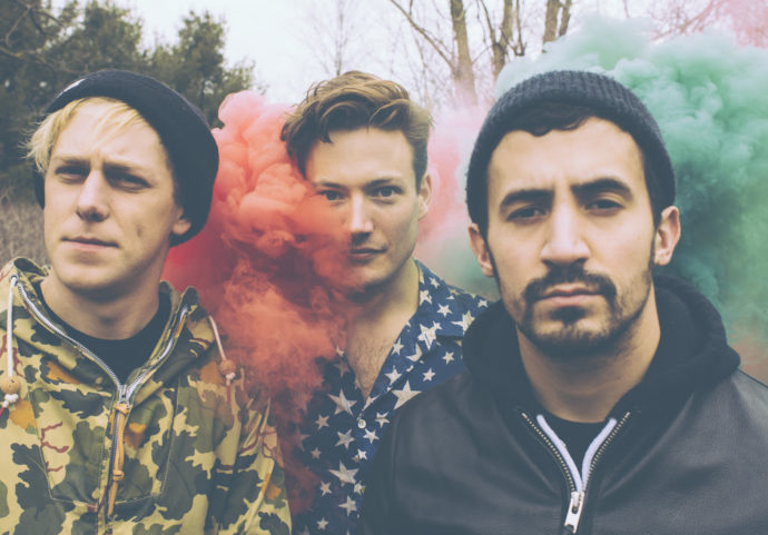 """The Dirty Nil release new video for """"Friends In The Sky""""."""
