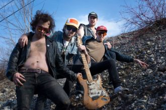 "Ava Muir interviews Ottawa's New Swears, recently signed to Dine Alone Records. New 7"" 'Brand New Spot / Sugar Heavy Metal' available now"