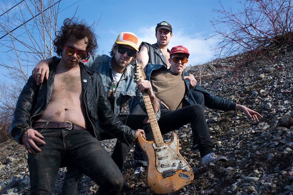"""Ava Muir interviews Ottawa's New Swears, recently signed to Dine Alone Records. New 7"""" 'Brand New Spot / Sugar Heavy Metal' available now"""