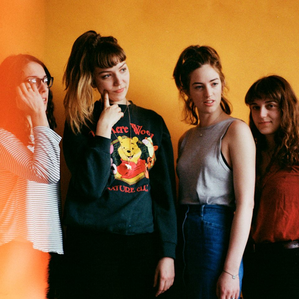 It's been quite the year for highly touted Londoners 'The Big Moon', who burst onto the scene last April and truly hit the ground running with a song aptly named ' Eureka Moment'. Now, they are readying their debut album entitled 'Love in the 4th Dimension'.