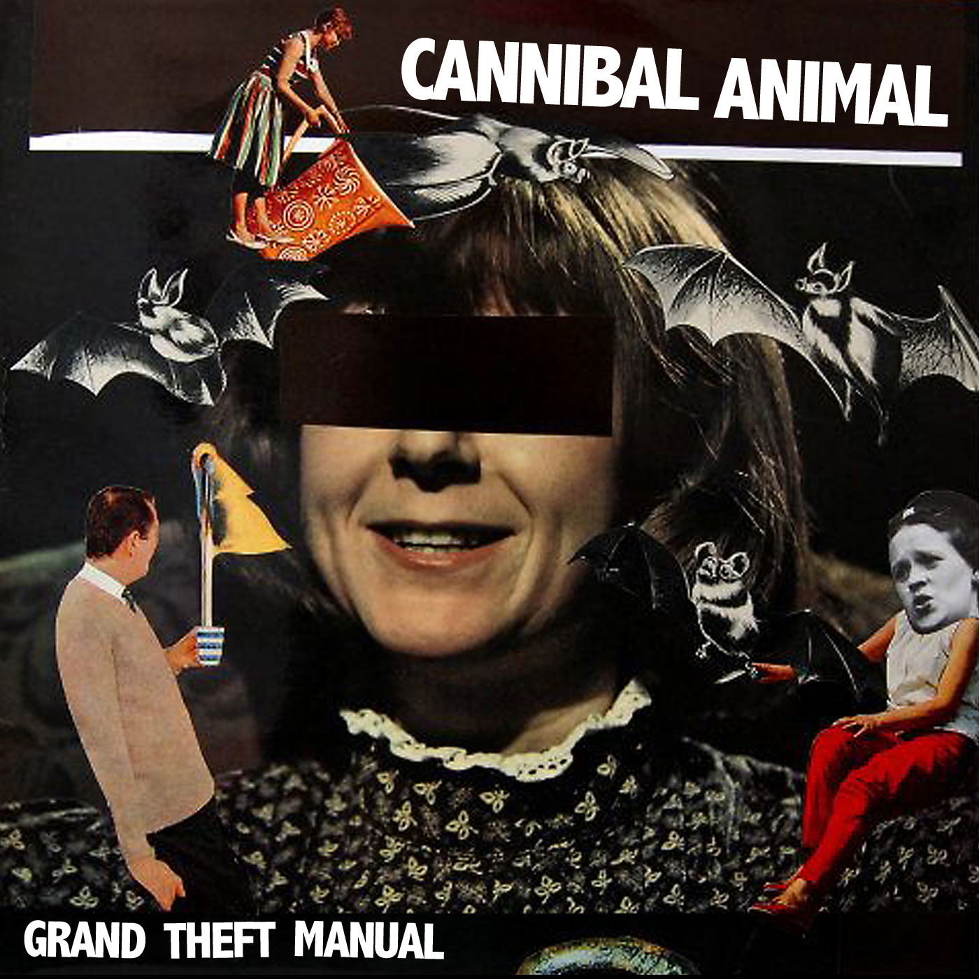 "Cannibal Animal debut video for ""The sound of a human breakdown."""