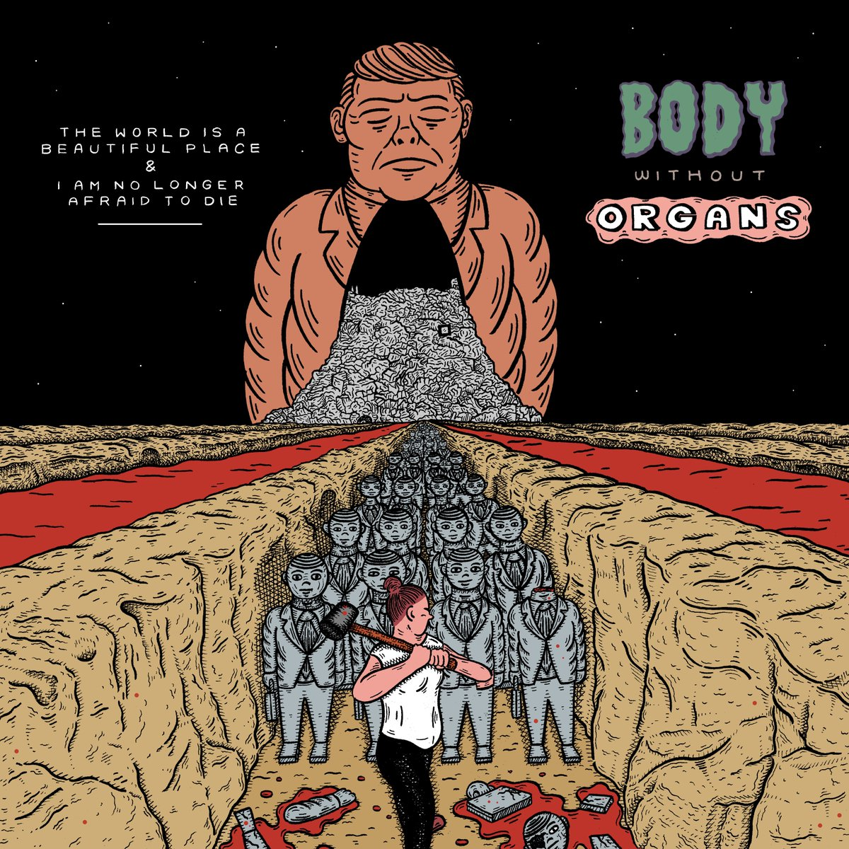 """The World is a Beautiful Place & I am No Longer Afraid to Die share unreleased track """"Body Without Organs"""", all song proceeds going to the ACLU"""