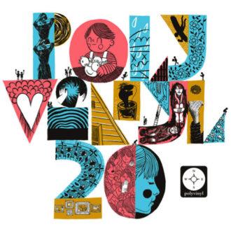 Polyvinyl streams 'Polyvinyl plays Polyvinyl' compilation.