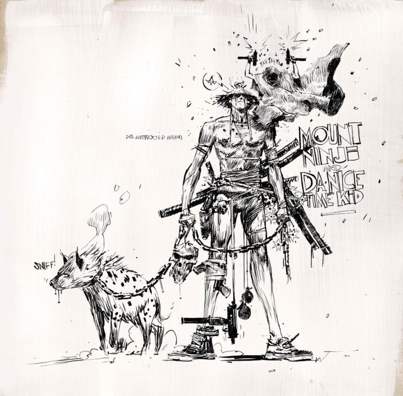 Die Antwoord have released their 'Mount Ninji And Da Nice Time Kid' on vinyl today.