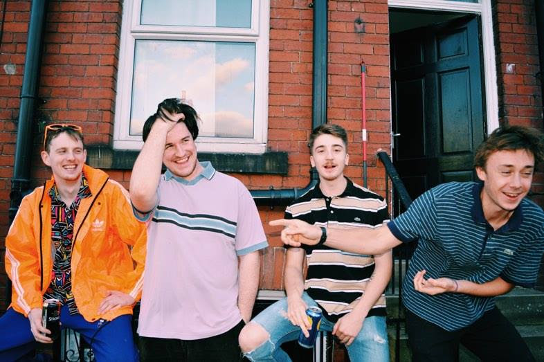 Originating as bedroom pop outfit WULFs, Party Hardly are an indie quartet whose broad, surf-y rock masks a relatively narrow recording technique. 'Friendly Feeling' was written in Stan's room early this year, the aim was to make the cheesiest song within the parameters of the band's normal sound.