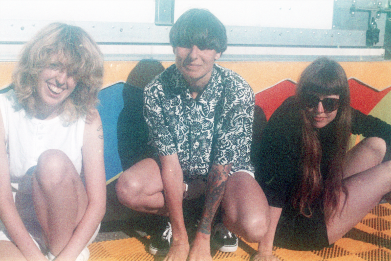 """The Courtneys sign to Flying Nun Records, share new single """"Silver Velvet""""."""