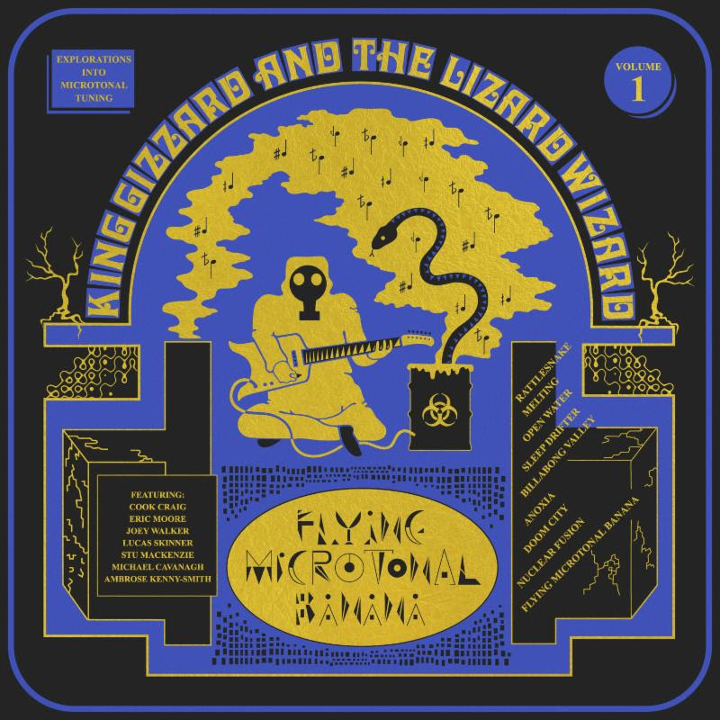 King Gizzard and the Lizard Wizard reveal new album 'Flying Microtonal Banana,'