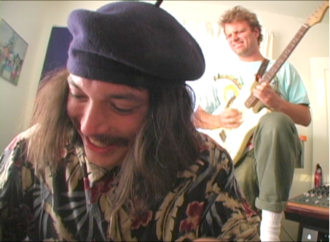 "Drugdealer shares his new video for ""The End Of Comedy"". The clip features Mac DeMarco and Wyes Blood,"