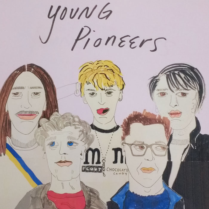 "Young Pioneers share new single ""Sick Inside"""