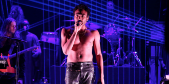 "Childish Gambino performs ""Redbone"" on The Tonight Show, new album 'Awaken, My Love!' out now through Glassnote"