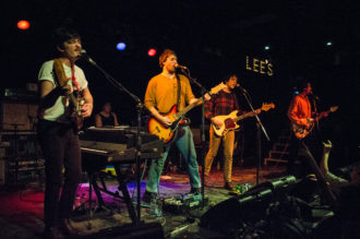 Twin Peaks, together PANGEA, Golden Daze, live at Lee's Palace in Toronto, on December 3, 2016