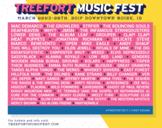 Treefort Music Fest announces first wave of artists for 2017, including Mac DeMarco, STRFKR, The Growlers