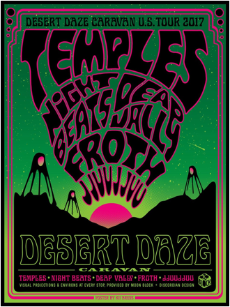 Night Beats announce Desert Daze Caravan tour with Temples and more, new album 'Who Sold My Generation' out now on Heavenly Recordings