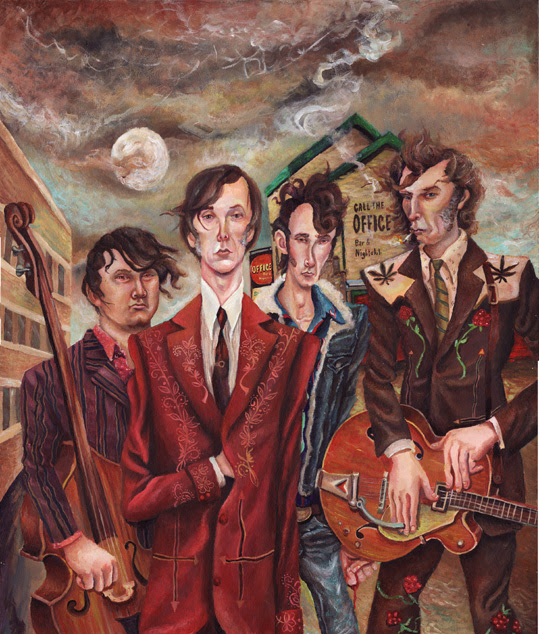 """The Sadies release new song """"It's Easy (Like Walking)"""" featuring Kurt Vile"""